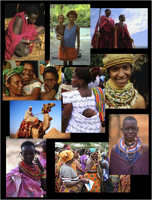African People Collage 1