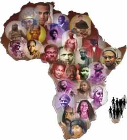African People Collage 2