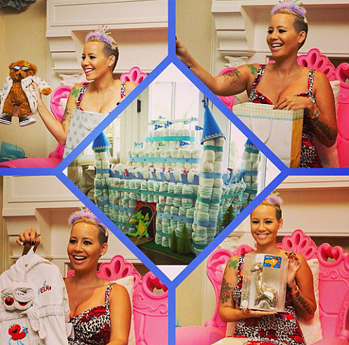 Amber Rose 2nd baby shower jan 9 2013 2