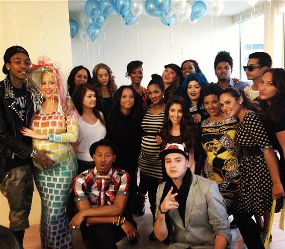 Amber Rose baby shower jan 6 2013 1