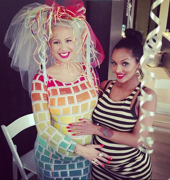 Amber Rose baby shower jan 6 2013 11