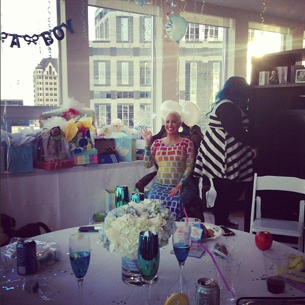 Amber Rose baby shower jan 6 2013 12