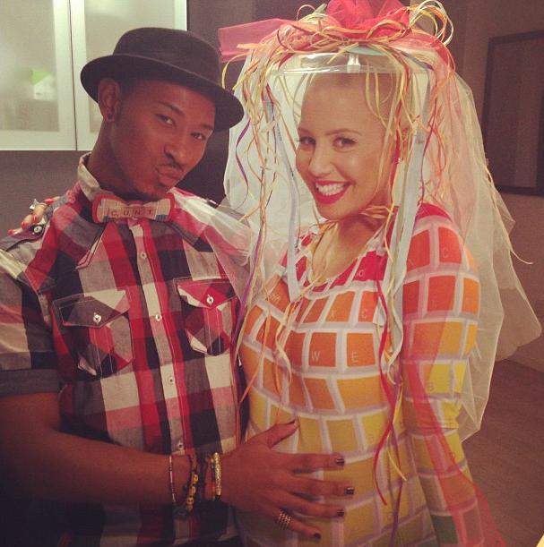 Amber Rose baby shower jan 6 2013 8
