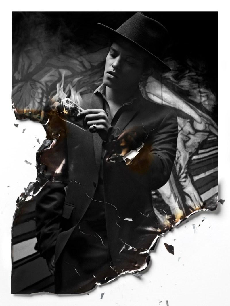 Bruno Mars and Ajak Deng for Flaunt Magazine 5