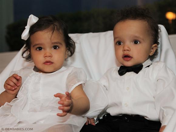 Dem Babies - Mariah Carey's twins