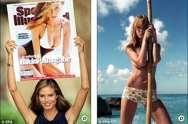 Heidi Klum Bikini Days 1