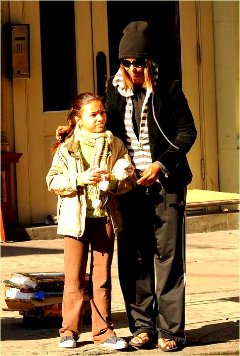 iman and daughter