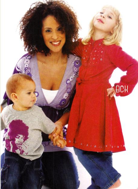 karyn parsons and kids