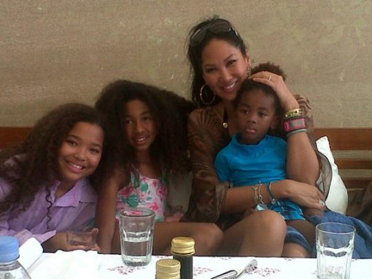 Kimora Lee Simmons and kids