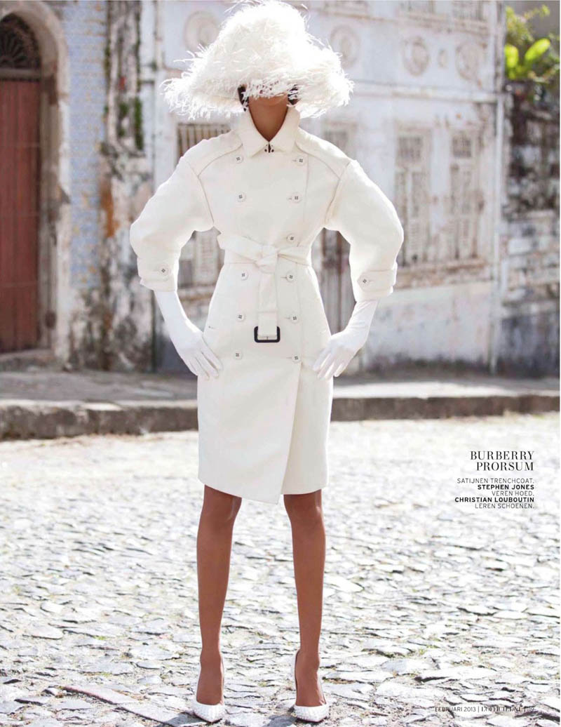 Lais Ribeiro for L'officiel Netherlands Feb 2013 6