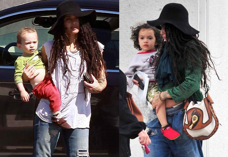 lisa bonet and kids