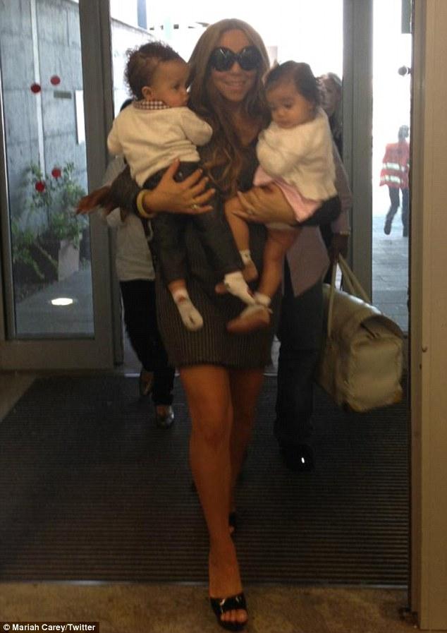 mariah carey and twins