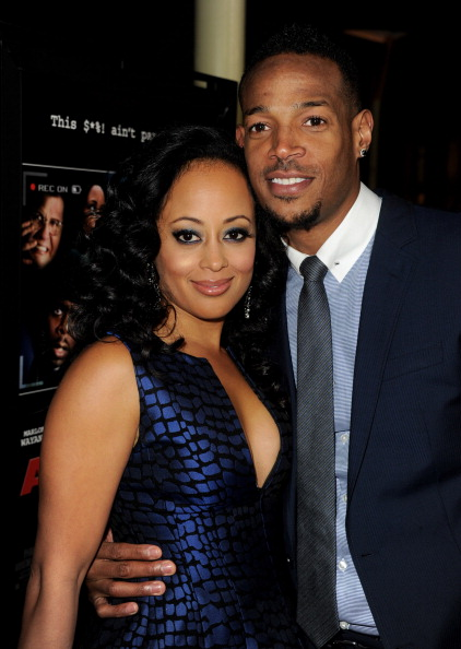 "Marlon Wayans and Essence Atkins at Premiere Of Open Road Films' ""A Haunted House"""