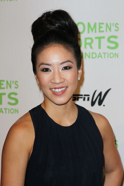 Michelle Kwan at 33rd Annual Salute To Women In Sports