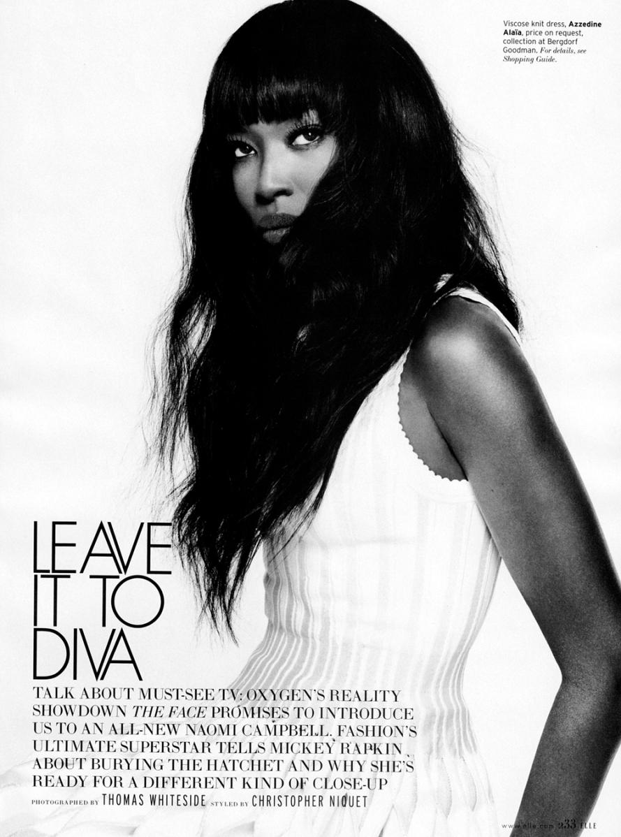 Naomi Campbell Elle Mag Feb 2013 1
