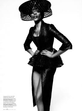 Naomi Campbell Elle Mag Feb 2013 2