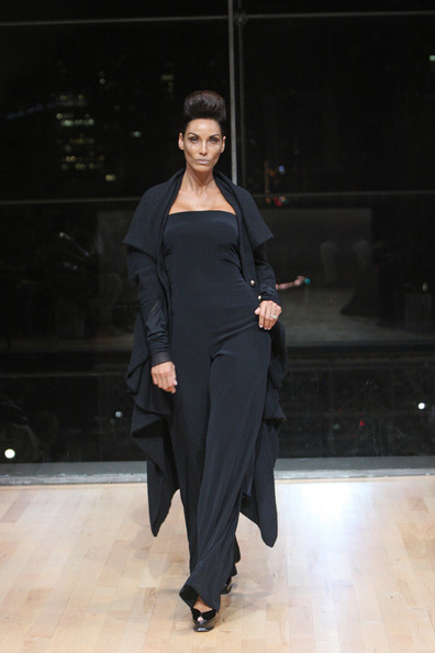 Nicole Murphy 2012 NY Fashion Week 1