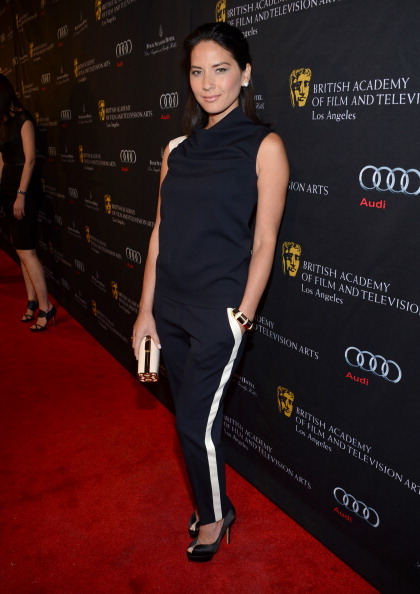 Olivia Munn BAFTA Los Angeles 2013 Awards 1