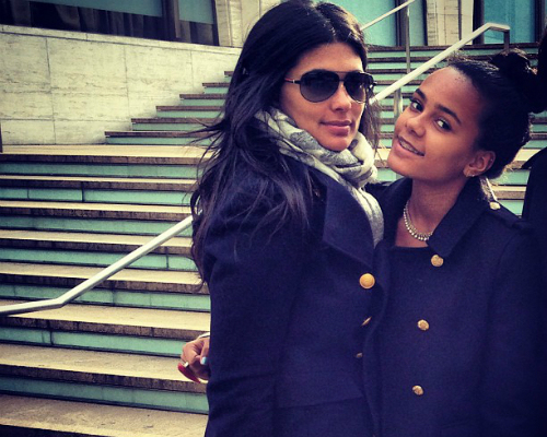 Rachel Roy and daughter Ava