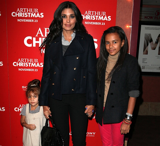 Rachel Roy and daughters Ava and Tallulah