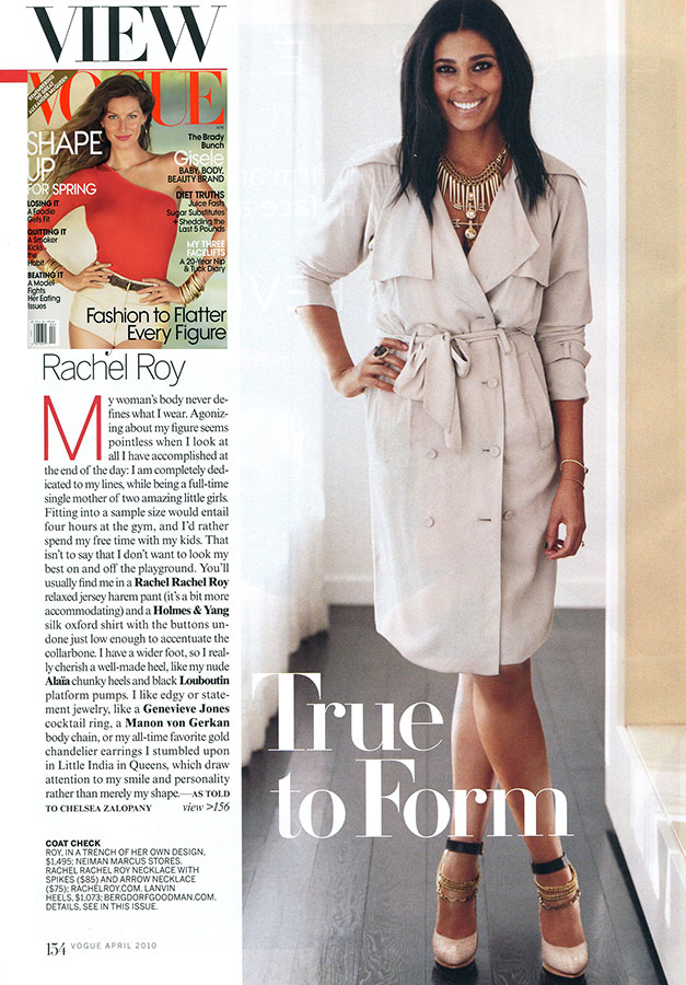 Rachel Roy Vogue