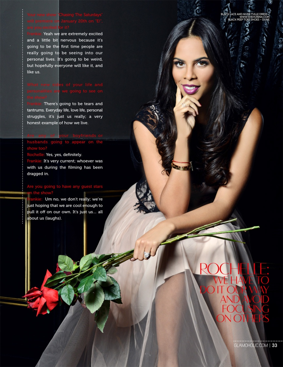 Rochelle Wiseman Glamoholic magazine