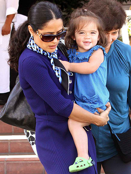 salma hayek and daughter