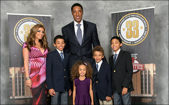 Scottie Pippen and family Annual Charity Dinner jan 2013 3