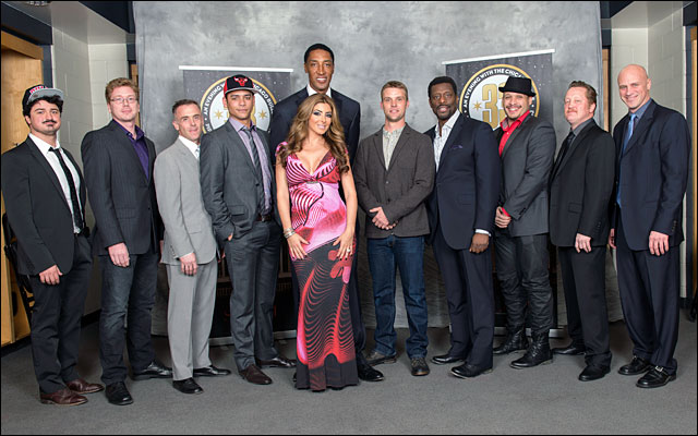 Scottie Pippen and family Annual Charity Dinner jan 2013 4