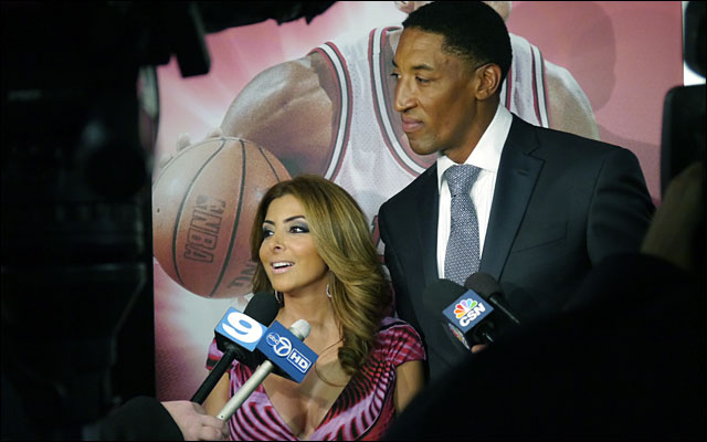 Scottie Pippen and family Annual Charity Dinner jan 2013 5