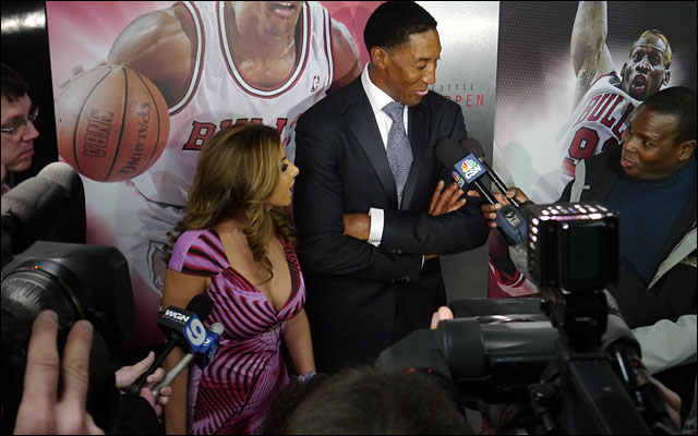 Scottie Pippen and family Annual Charity Dinner jan 2013 6