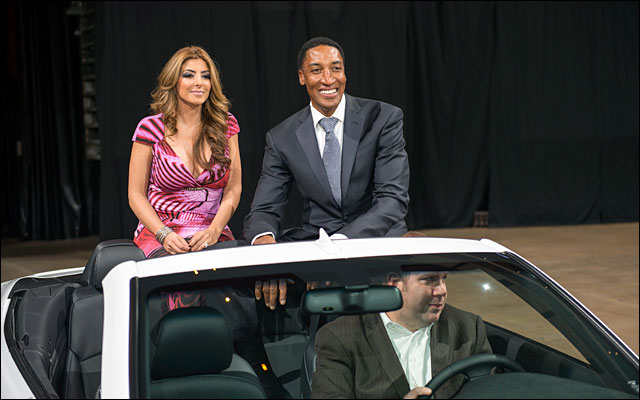 Scottie Pippen and family Annual Charity Dinner jan 2013 7