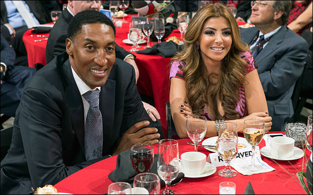 Scottie Pippen and family Annual Charity Dinner jan 2013 9