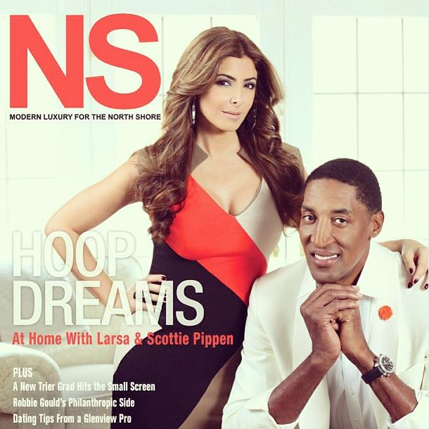 Scottie Pippen and Larsa 2