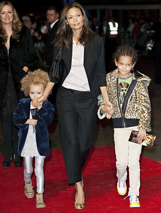 thandie newton and kids