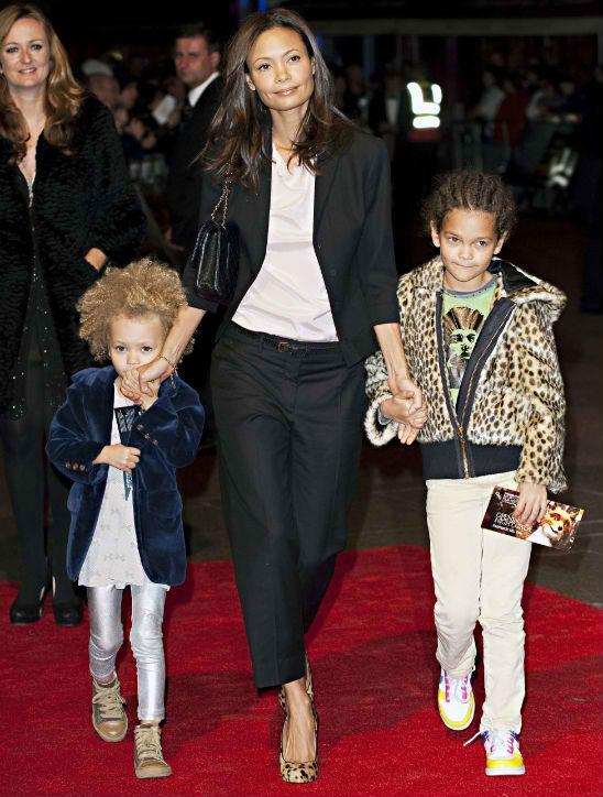 thandie newton and kids