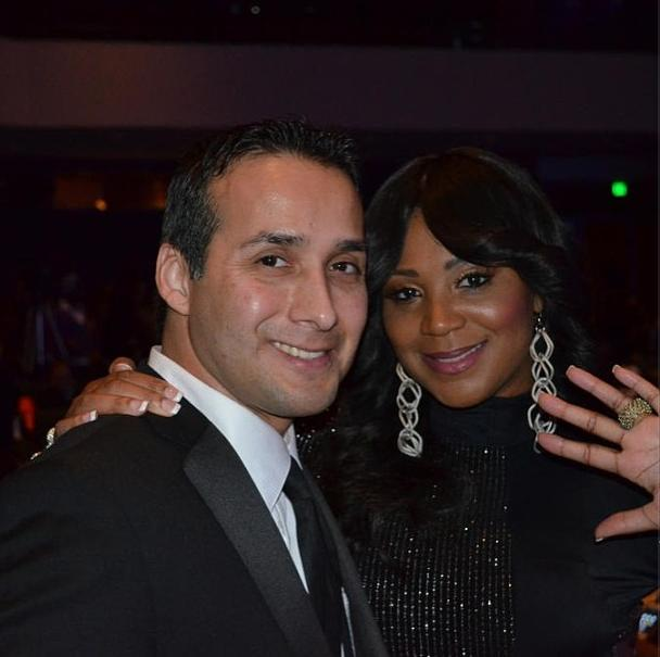 Trina Braxton and Gabe Solis