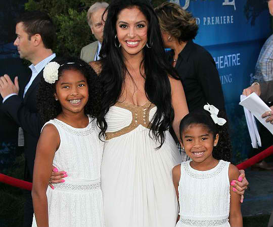 vanessa bryant and kids
