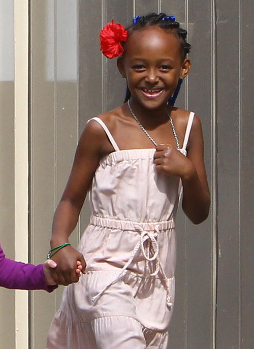 Zahara Jolie-Pitt 8th birthday