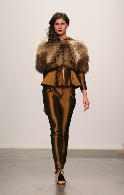 Adolfo Sanchez Fall 2013 collection 1