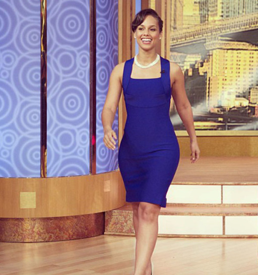 Alicia Keys on the Wendy Williams Show Feb 2013 2