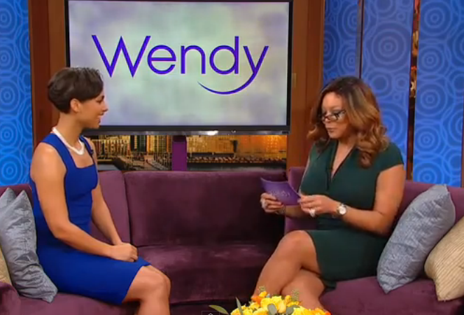 Alicia Keys on the Wendy Williams Show Feb 2013 4