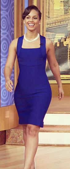 Alicia Keys on the Wendy Williams Show Feb 2013 5