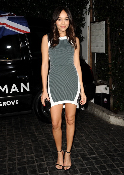 Ashley Madekwe at Topshop Topman LA Flagship Store Opening