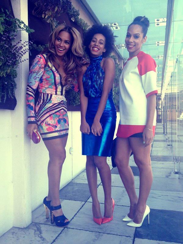 Beyonce and Solange Roc Nation Brunch