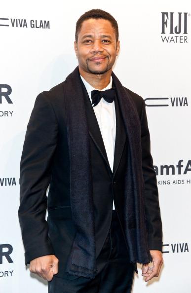 Cuba Gooding, Jr. at amfAR New York Gala 2013