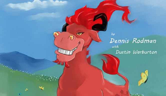 Dennis the wild bull book art
