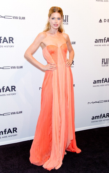 Doutzen Kroes at amfAR New York Gala 2013