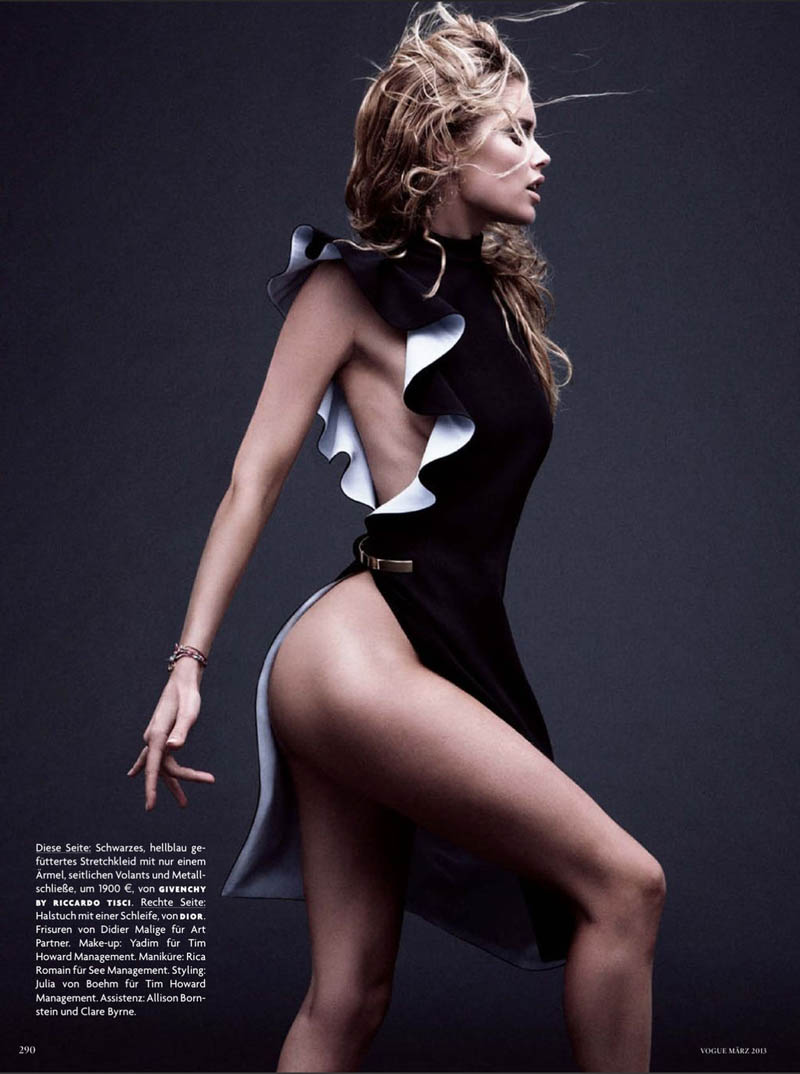 Doutzen Kroes Vogue German March 2013 10