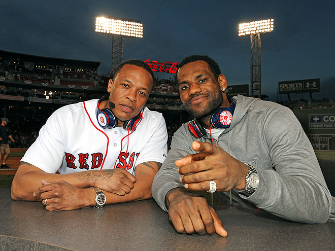 Dr. Dre and Lebron James for ESPN Magazine's Music Issue 3